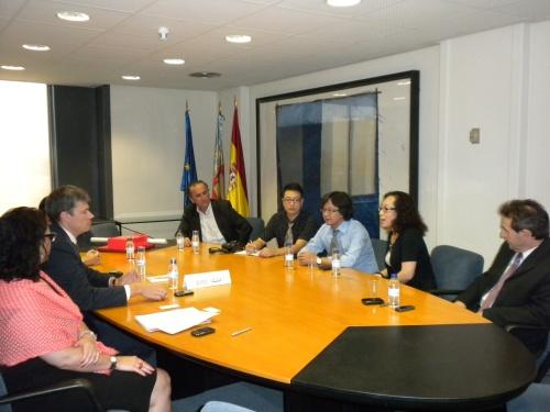 AMEELE, celebró una reunión con una delegación comercial china