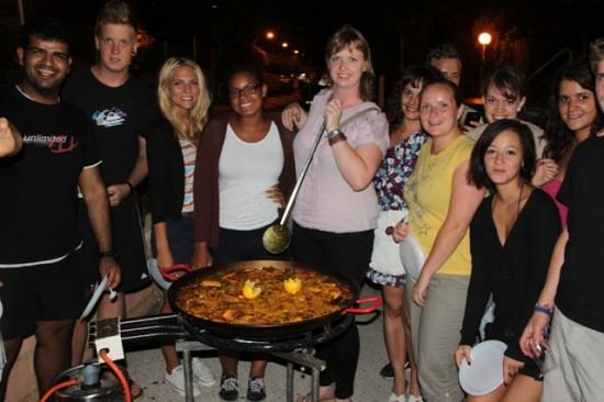 Concurso de paellas, Javea, 31.08.12