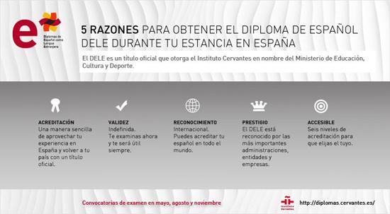 DELE aprender español con Costa de Valencia, escuela de español