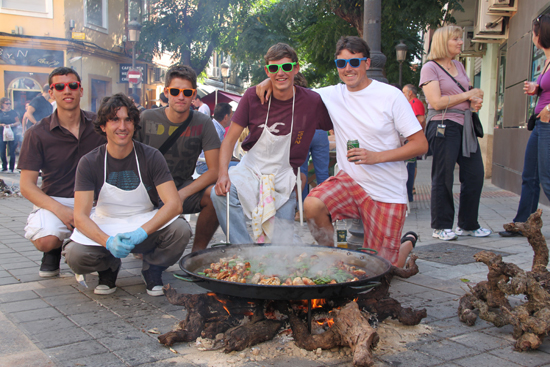 Paellas en Cheste