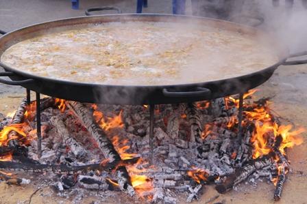 aprender español cocinando paellas