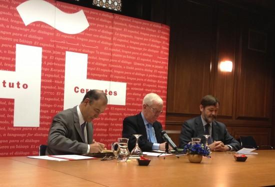 Convenio Marco de Colaboración FEDELE Instituto Cervantes