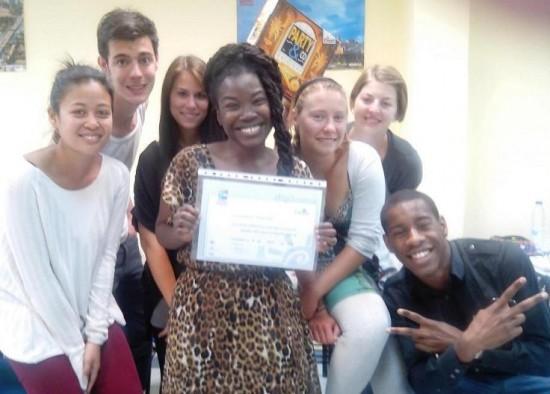Nuestra Alumna Obtiene la Beca del Voluntariado