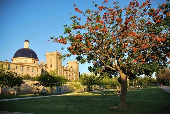 Recorrido por el r o de valencia un parque nico learn for Jardin urbano valencia