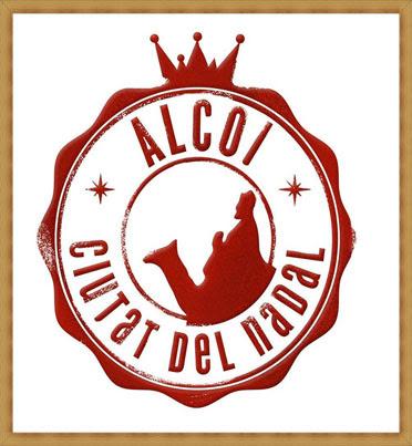 Logotipo Alcoi ciutat del Nadal